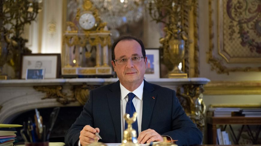 C'est depuis son bureau de l'Elysée que François Hollande présentera ses voeux