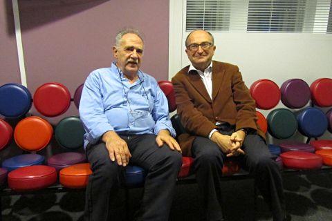 Kostas Vergopoulos et Christian de Boissieu