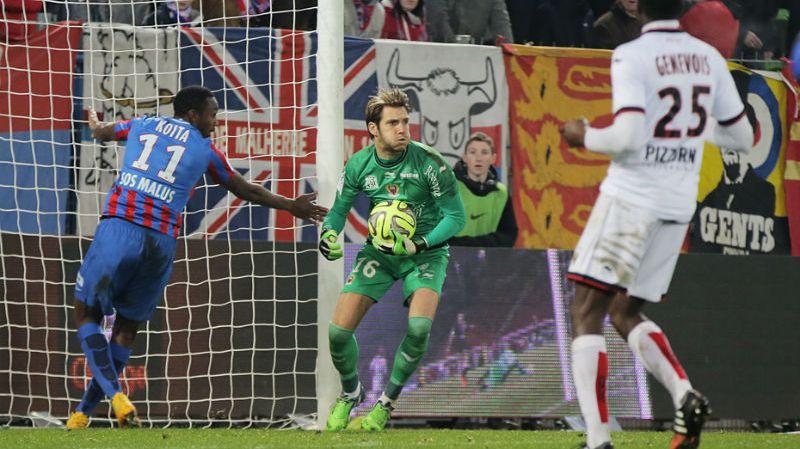 Simon Pouplin a connu sa première titularisation en Ligue 1 cette saison