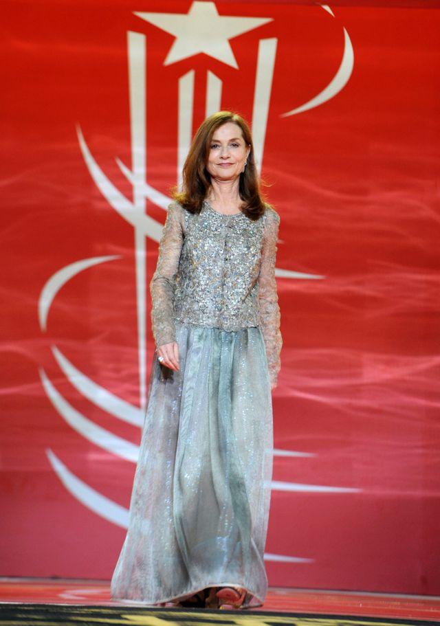 Isabelle Huppert, à l'ouverture de la cérémonie du Festival international du film de Marrakech