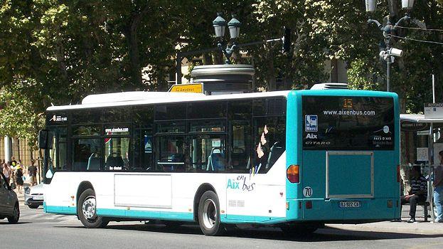 Reprise progressive du trafic des bus aix en provence - Bus aix en provence salon de provence ...