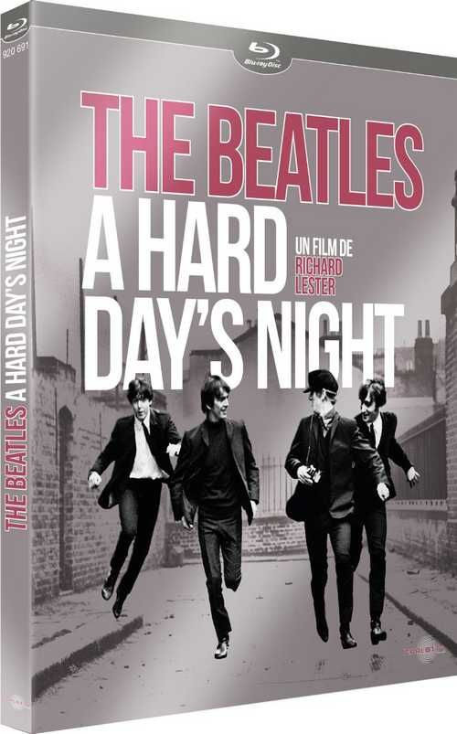 A Hard Day's Night de Richard Lester, en DVD Blu Ray