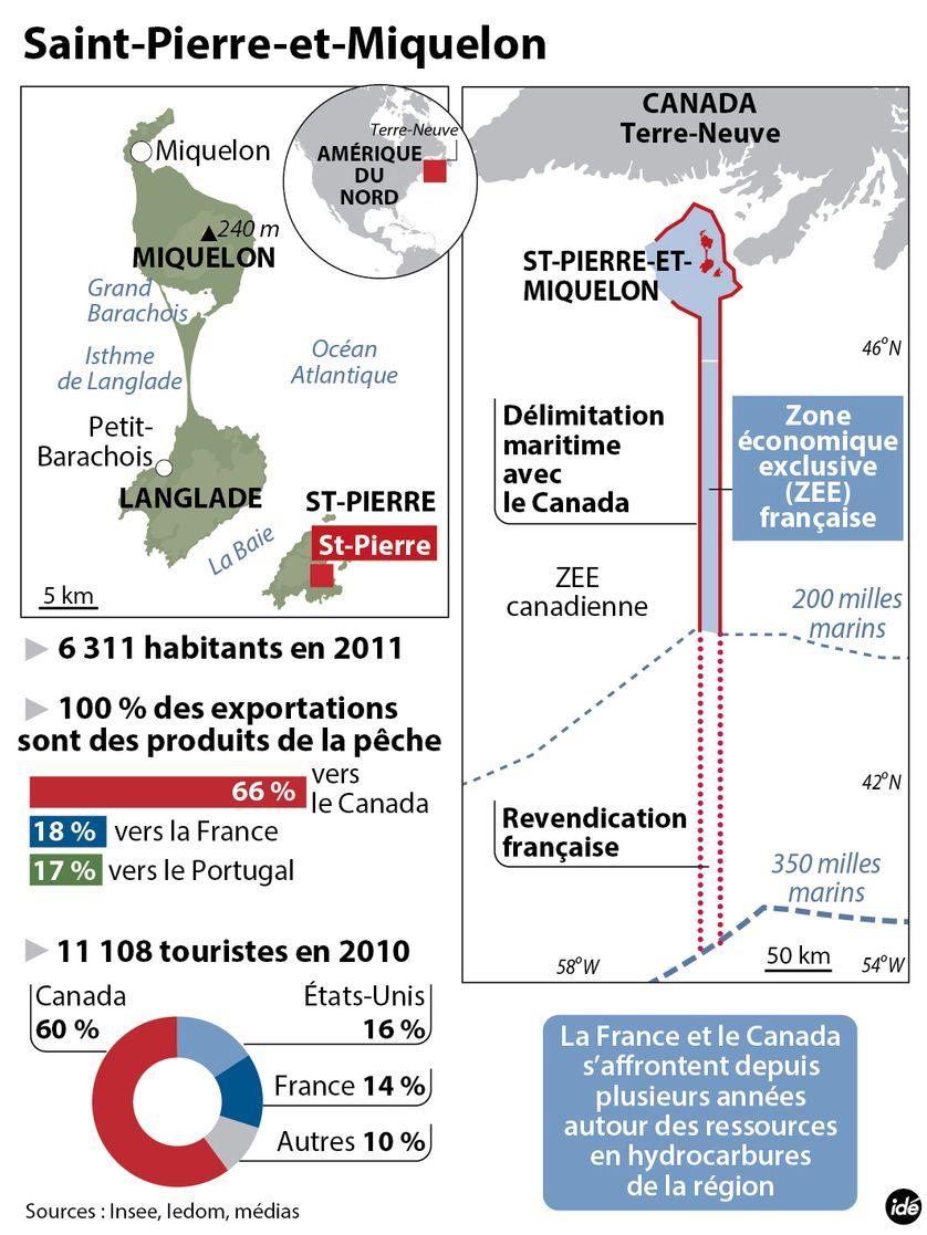 Les chiffres de Saint-Pierre-et-Miquelon