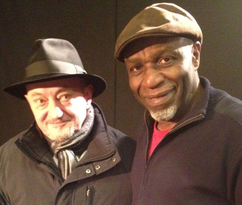 J. Nilovic et R. Lema au studio 108