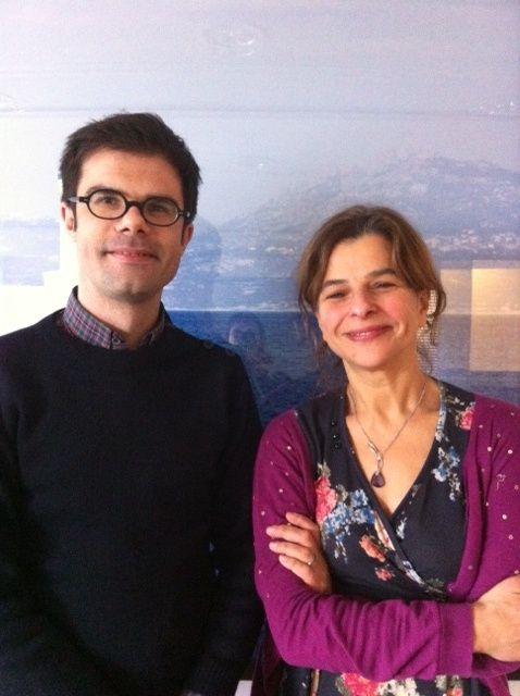 Mathieu Simonet et Michèle Levy Soussan
