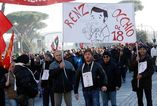 Manifestation à Rome vendredi.