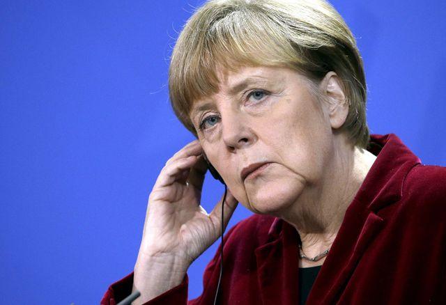La chancellière Merkel