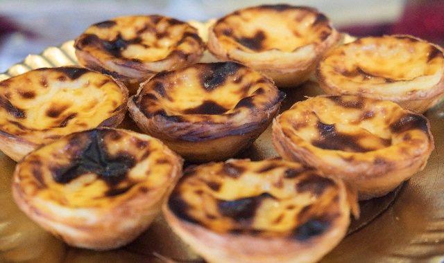 Tartes à la crème portugal