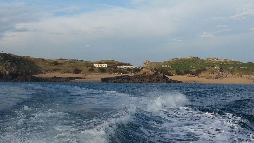 L'île Cézembre au large de Saint-Malo