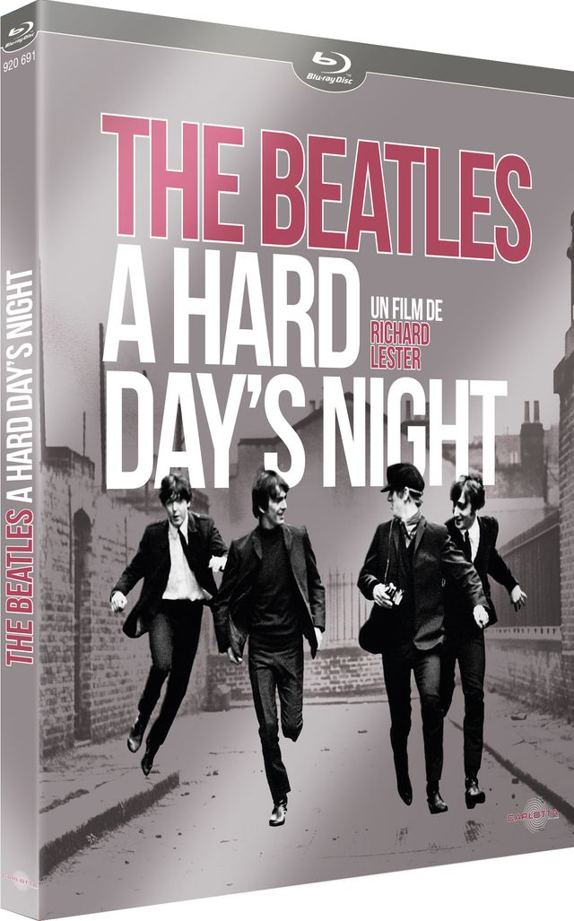 hard day's night visuel dvd
