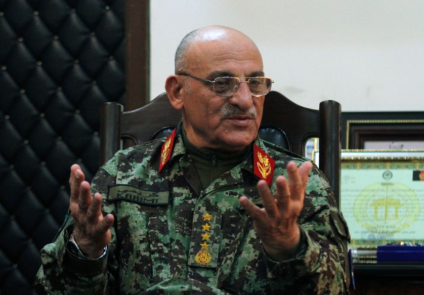 Sher Mohammad Karimi, en mars 2012, à Kaboul