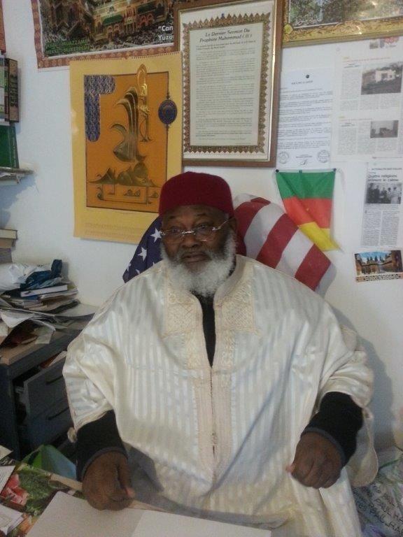 L'imam de Taverny, Mamadou Nsangou, aumônier musulman des prisons d'Osny et Poissy.