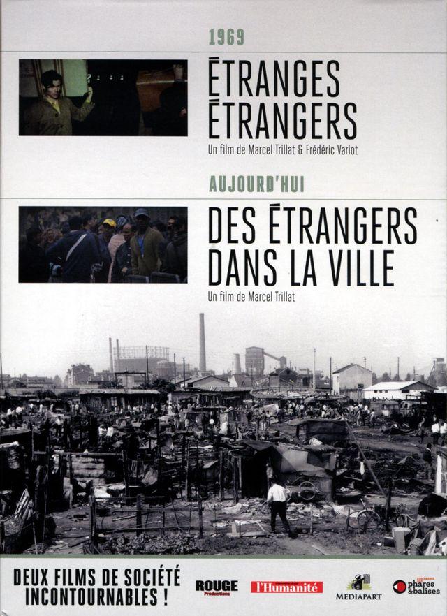 """Marcel Trillat- DVD """"Des étrangers dans la ville"""" et """"Etranges étrangers"""""""