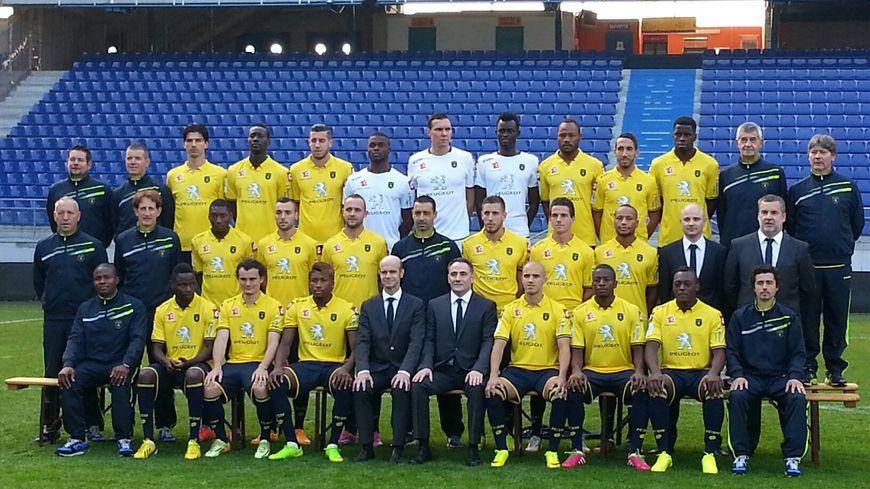 Photo officielle FCSM saison 2014/2015