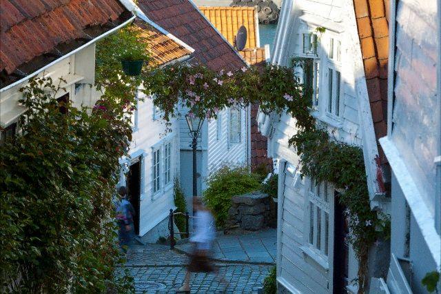 Stavanger vieille ville