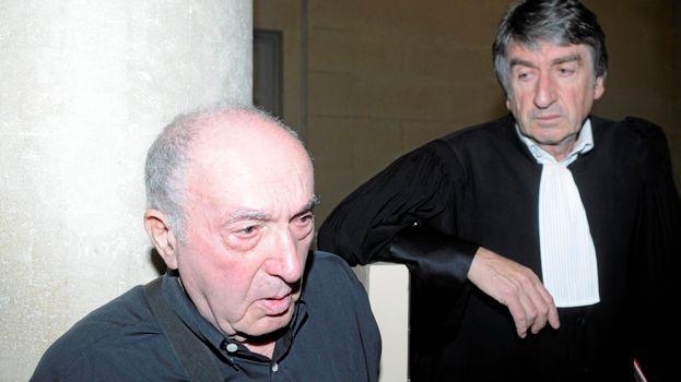 Jean Bastouill et son avocat Maître Nicolau en 2011