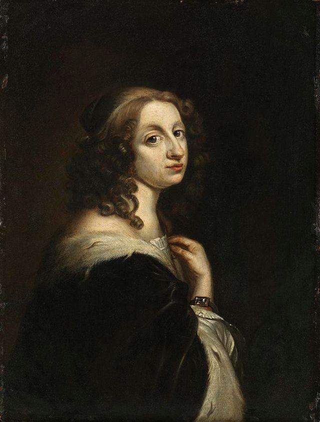 Portrait de la reine Christine de Suède attribué à David Beck - vers 1647-51