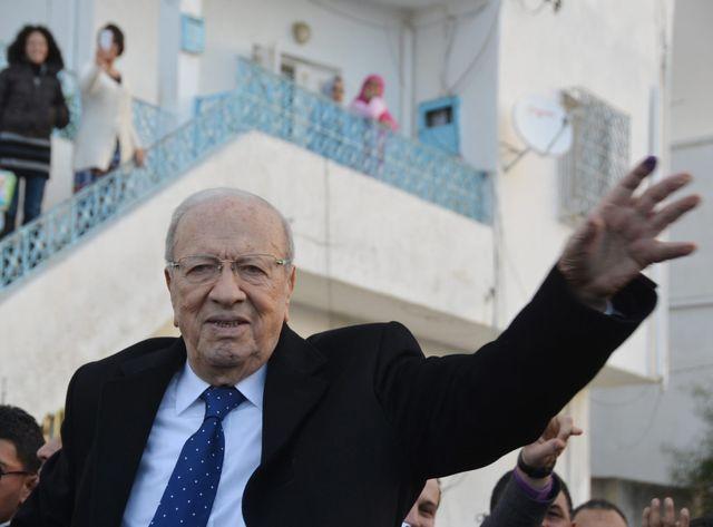 Béji Caïd Essebsi ce dimanche à Tunis.
