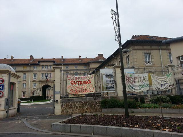 L'hôpital psychiatrique de Villejuif en grève contre la remise en cause des 35 heures