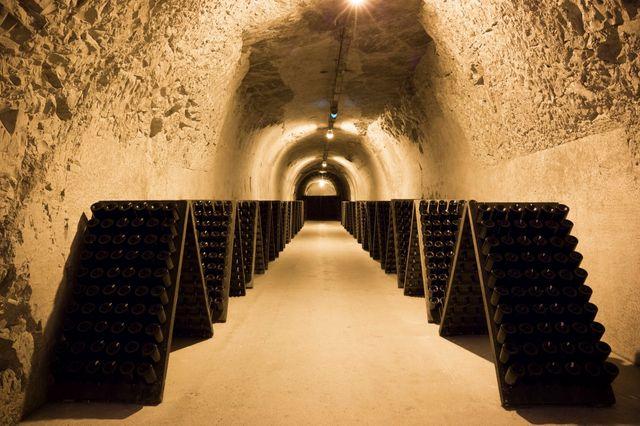 Cave de champagne Taitinger à Reims