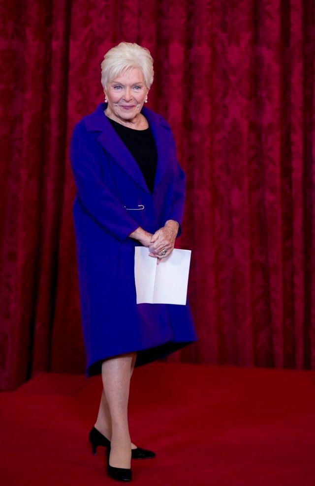 Line Renaud à la cérémonie de la Légion d'Honneur, 21 novembre 2013