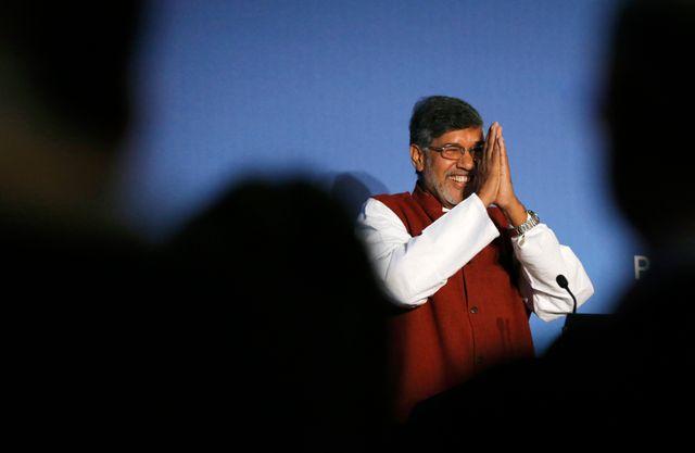 Kailash Satyarthi, co-prix Nobel de la Paix.
