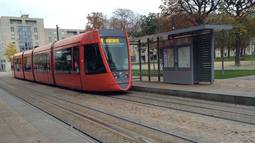 Le tramway de Reims