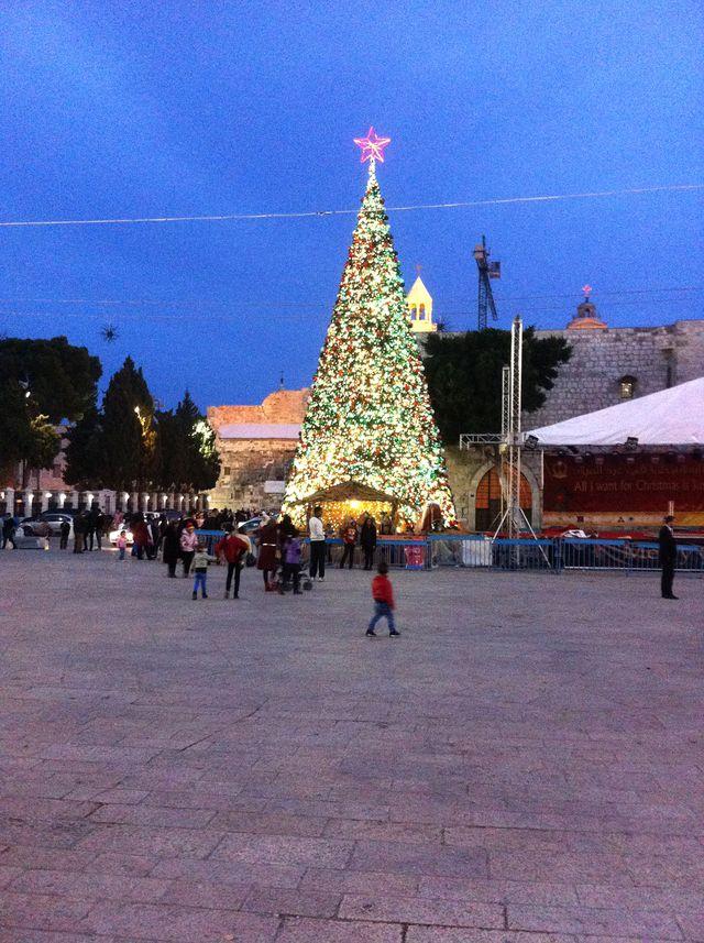 Noël morose à Bethléem