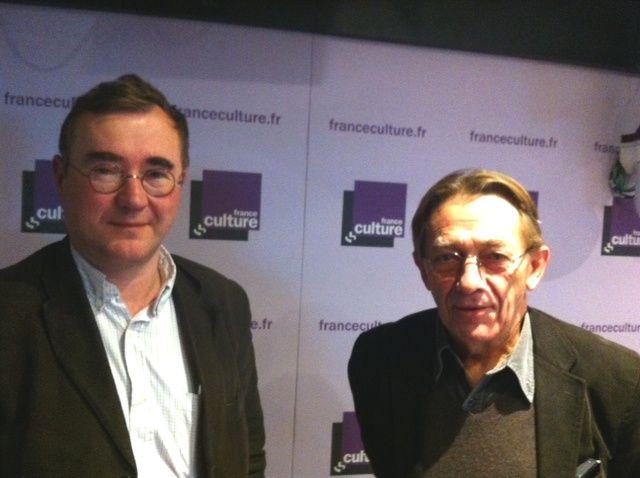 François Huguenin et Gérard Courtois