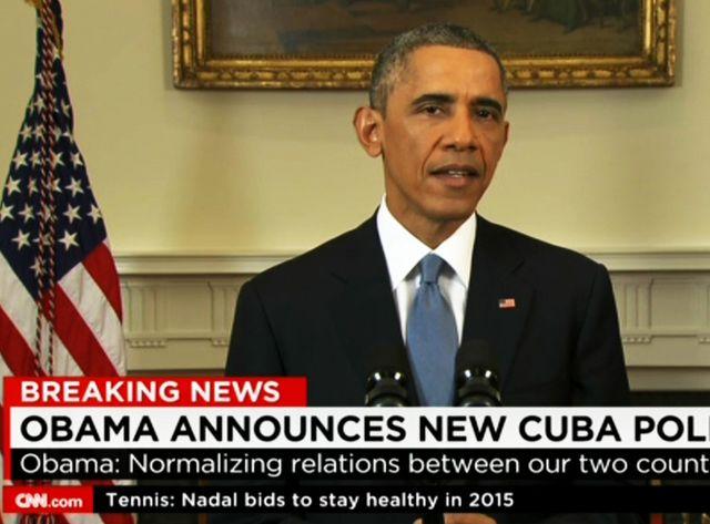 Barack Obama annonce la normalisation des relations avec Cuba