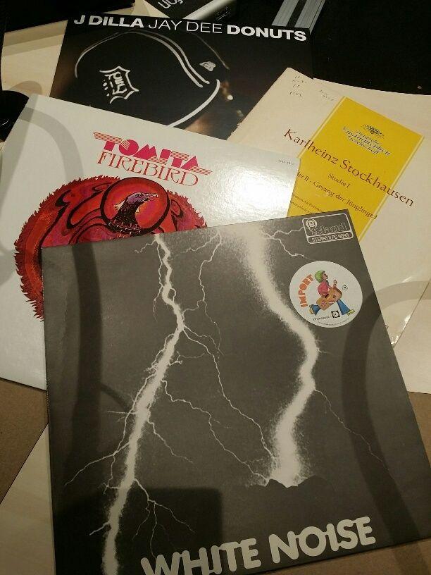 Vinyles, sélection Electro...