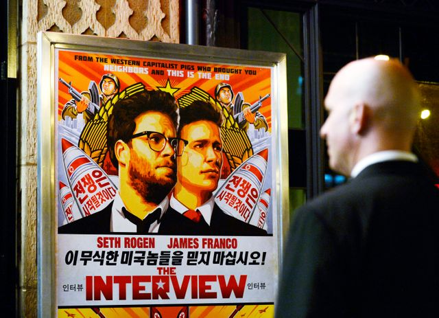 "L'affiche de ""the Interview"" de Sony Pictures"