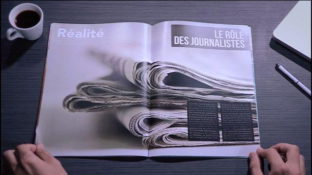 Le rôle des journalistes
