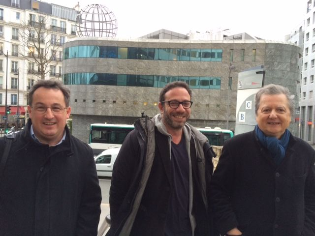Yann Mens, Christophe Ayad, Pierre Haski