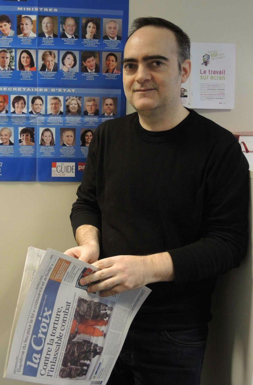 Laurent de Boissieu, journaliste à La Croix