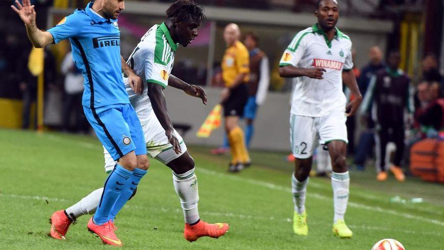 Moustapha Bayal-Sall le 6 novembre face à l'Inter Milan.