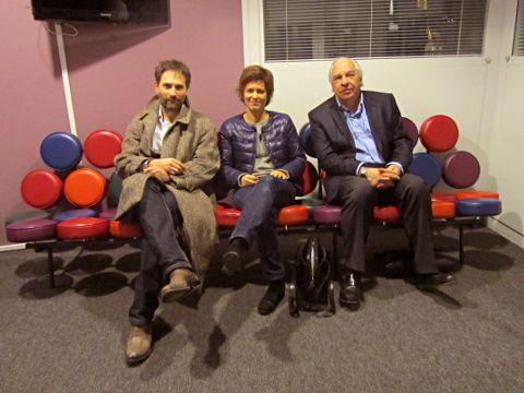 Frédéric Martin, Léonore Le Caisne et Didier Decoin