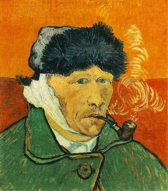 Autoportrait, Van Gogh, 1889