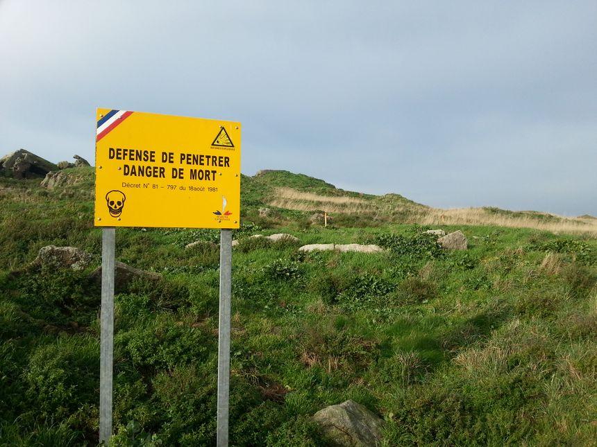 90% de l'île Cézembre est interdite aux touristes