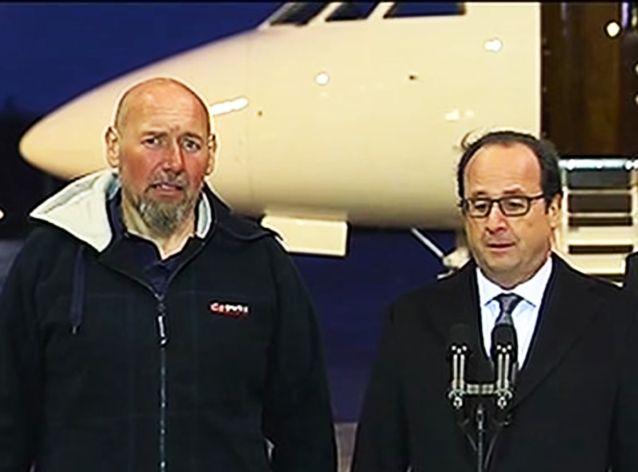 François Hollande accueille Serge Lazarevic