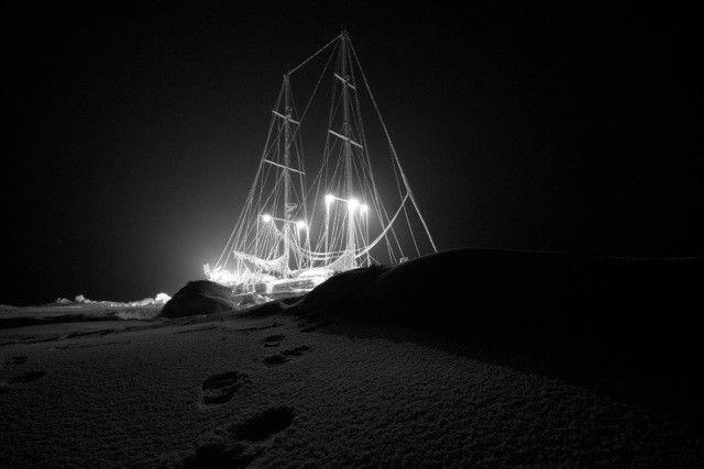 Tara, vaisseau des glaces (Océan Glacial arctique, hiver 2007-2008)