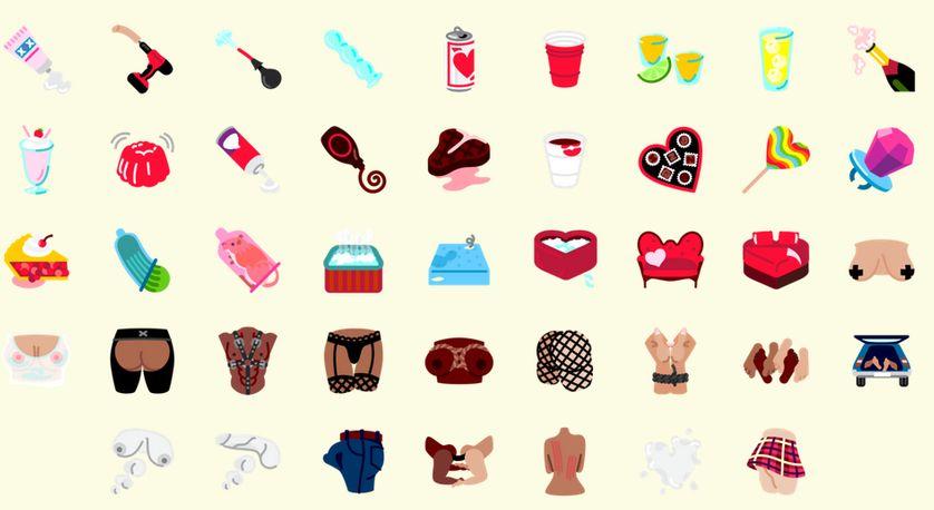 Pixel Emoji - FlirtMoji