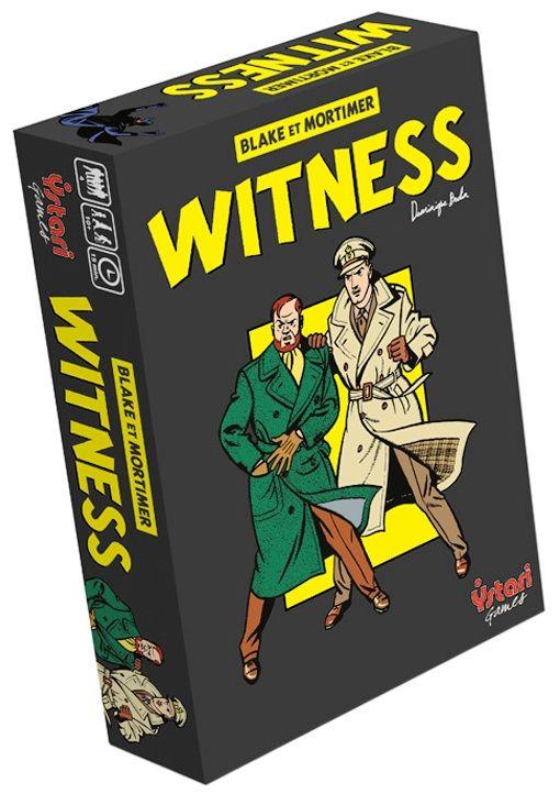 Jeu _ Blake et Mortimer - Witness