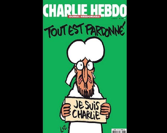 Une du n°1178 de Charlie Hebdo