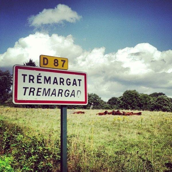 Entrée du village de Trémargat