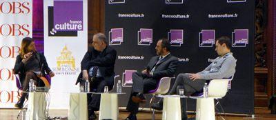 Adèle Van Reeth, Barthélémy Jobert, Dorian Astor et Michaël Foessel