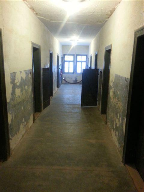 Couloir de la prison du Struthof