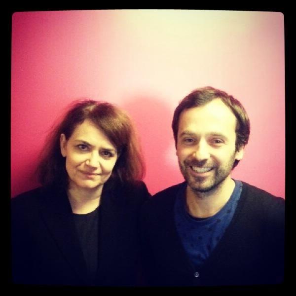 Chahla Chafiq et Thierry Hoquet