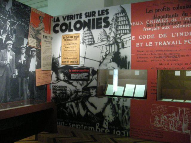 Exposition temporaire à la Cité nationale de l'histoire de l'immigration à Paris en 2008