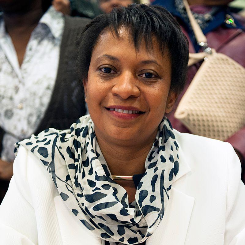 Hélène Geoffroy, députée maire socialiste de Vaulx-en-Velin